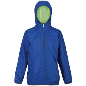 Regatta Lever II Chaqueta Impermeable Niños, nautical blue